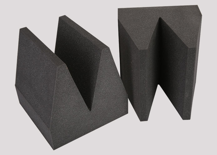 Sound absorption wedge