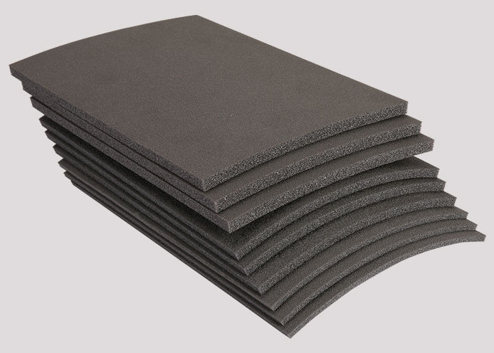 Floor acoustic closed cell foam